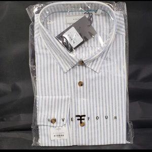 Men's XL Five Four Button Down Shirt 👔NWT